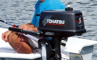 Лодочный мотор Тохатсу 5 л.с. (Tohatsu 5 л.с.)
