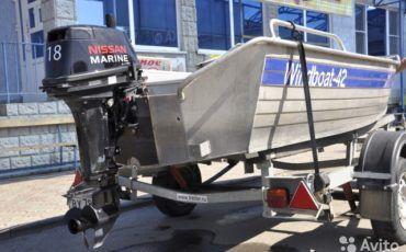 Лодочный мотор Ниссан Марин 18