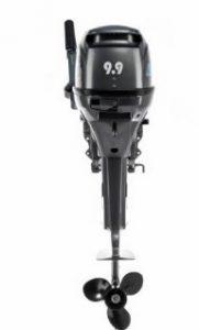 Подвесной лодочный мотор Mikatsu (Микатсу) M9.9FНS сзади