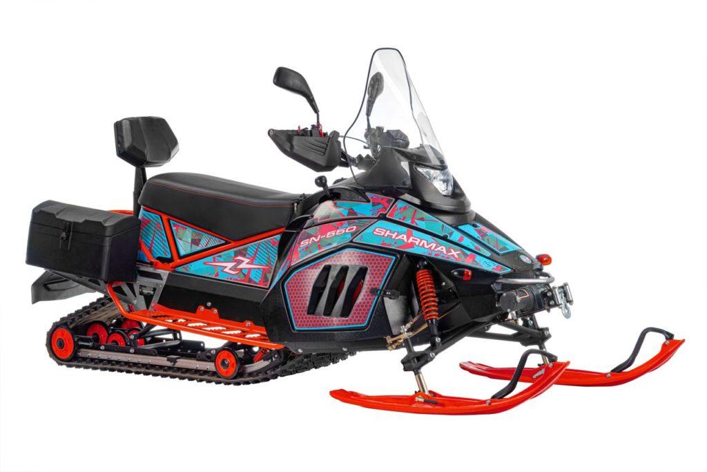 Отзывы- снегоход Sharmax SN-550 max pro